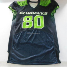 good quality combination American Football Uniforms / High Quality Football Uniforms / Sublmated Football Uniforms
