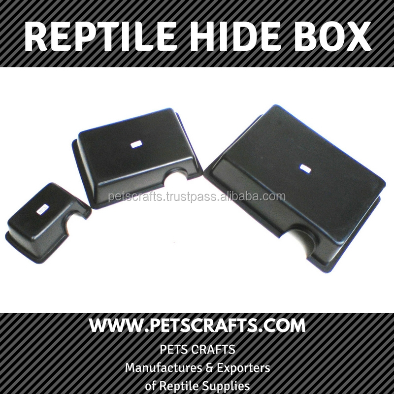 Pets Crafts Pakistan factory high quality low price plastic reptile hide