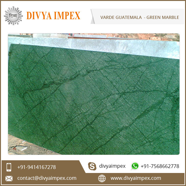 High Quality Verde Guatemala Marble For Bathroom Flooring and Wall
