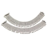 Silver Payal Full Ghungroo Anklet for Girls and Women