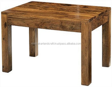 Jodhpur Sheesham Wood Coffee Table Indian Modern Rosewood Furniture Simple and Classic Sheesham Wood Coffee Table