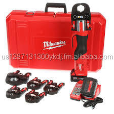 Free Shipping For Milwaukee M18 18-Volt Lithium-Ion Cordless Force Logic Press Tool Kit (6 Jaws included) | Hardware Power Tools