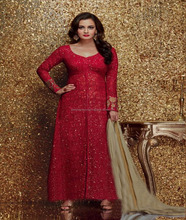 latest designer pakistani winter salwar suit kameez for ladies