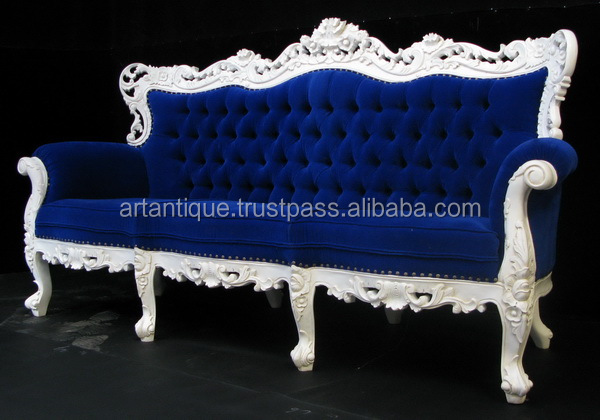 Flowers Sofa Antique Modern Luxury Living Room Furniture 3 Seater