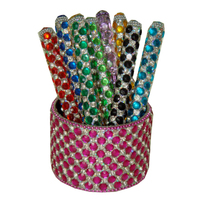 Cut Crystal studded Handmade Pens - refillable