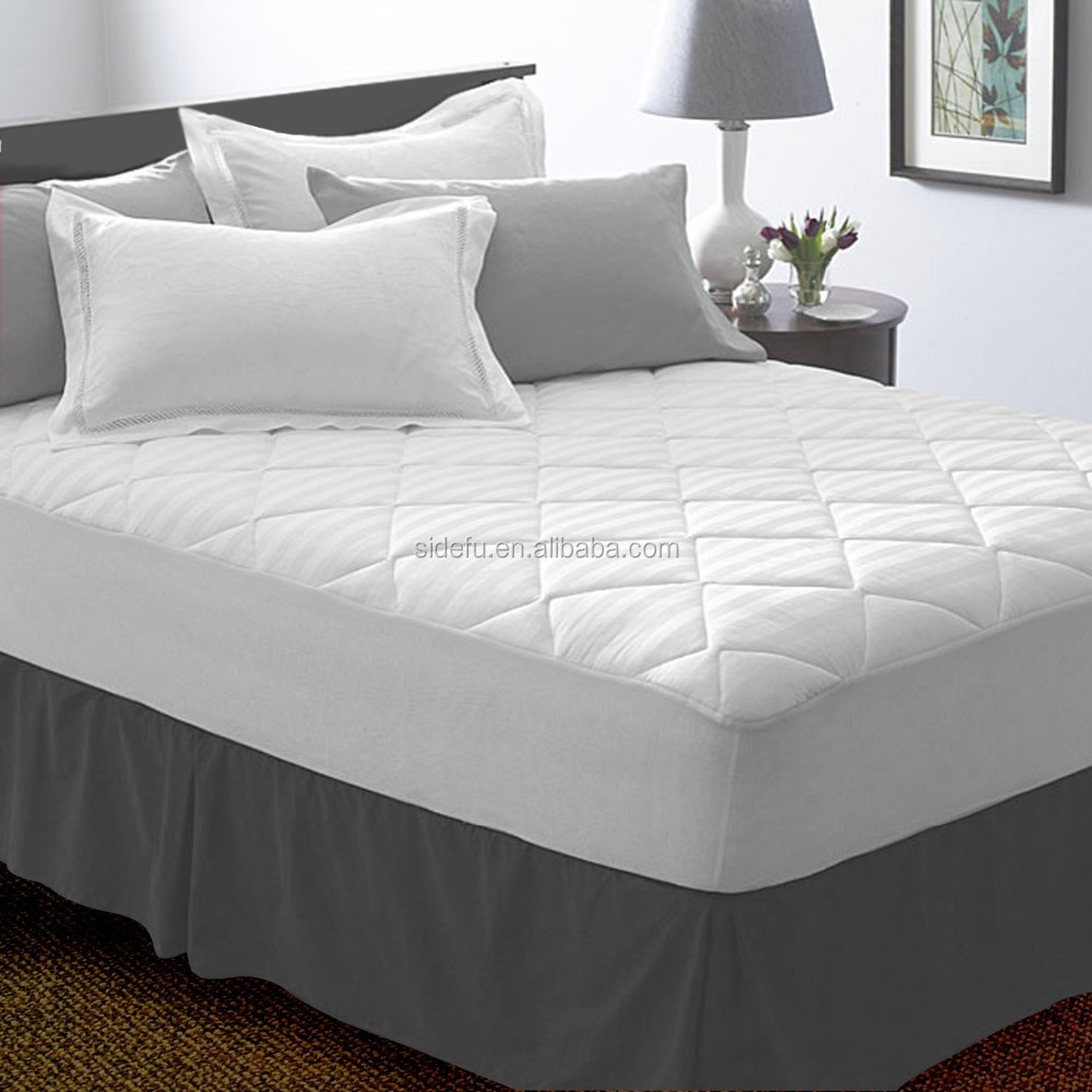 Super Comfortable Quilted White Hotel Waterproof Mattress Protector