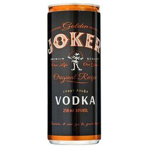 Vodka Golden Joker Can Vodka