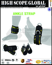 CAMO GYM FITNESS ANKLE STRAP WITH D RING FITNESS POWER TRAINING ADJUSTABLE WEIGHT LIFTING ANKLE STRAPS HIGH QUALITY