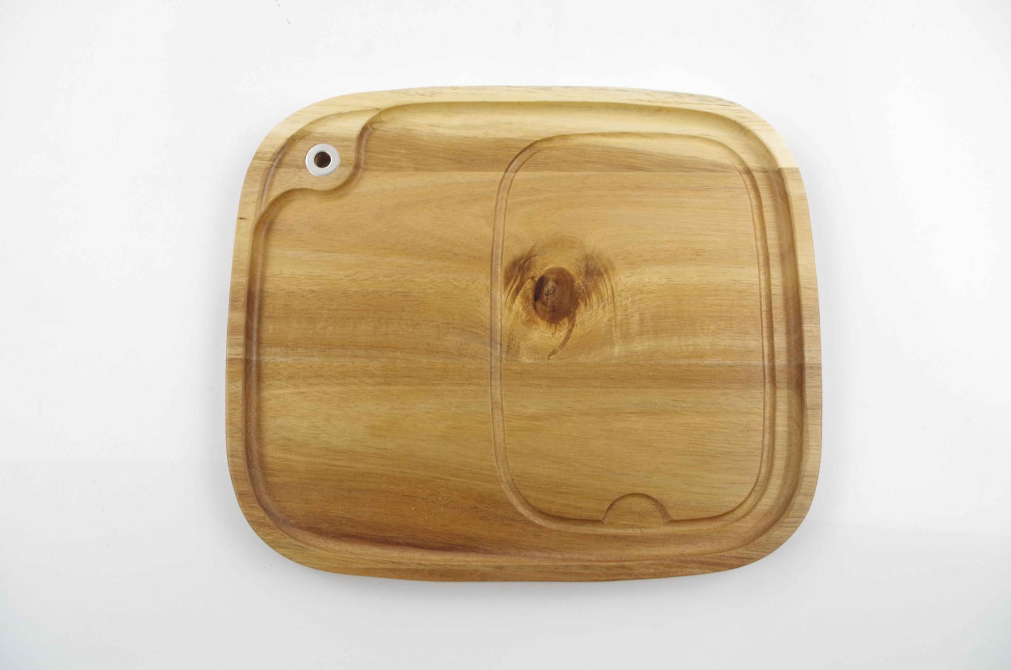 Acacia wood Kitchenware/restaurant Steak Serving Plate