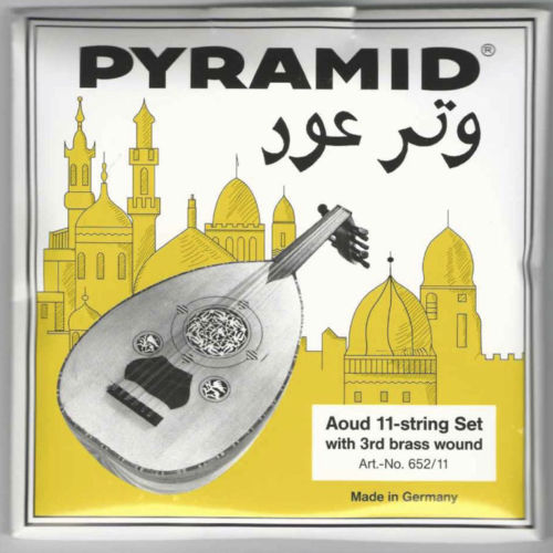 Professional Oud Strings Arabic Syrian Tuning Pyramid PSO-652