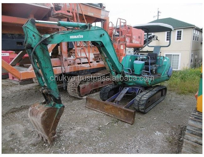 USED KOMATSU MINI EXCAVATOR PC20-7E FROM JAPAN