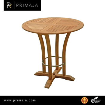 Classic Round Bar Table Teak Furniture