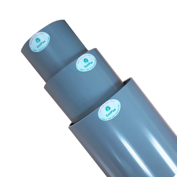 uPVC pipe 34mm 50mm PN12.5 2.0mm thickness high pressure PVC PIPE 30 years guarantee