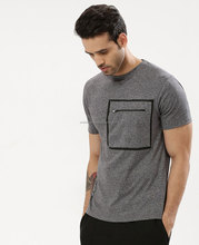 wholesale cheap plain t shirt in bulk for men 100% cotton high quality Men's slim