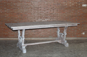 Reclaimed Teak Furniture -Dining Table 8 seater Indonesia Furniture