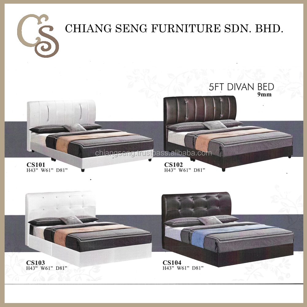 CS101 Single Foam Mattresses 5FT Divan Bed Online for Sale Cheap