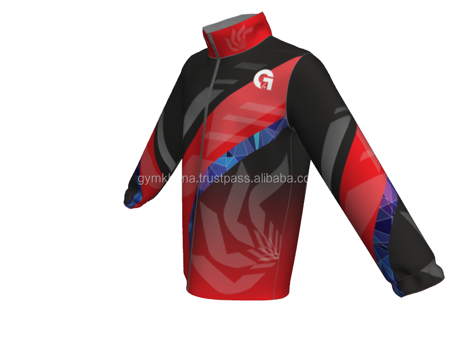Sublimated Design 100% Polyester Customized Fleece Track Suits / Jogigng Suits