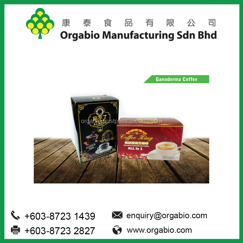 Premixed Ganoderma Instant Coffee