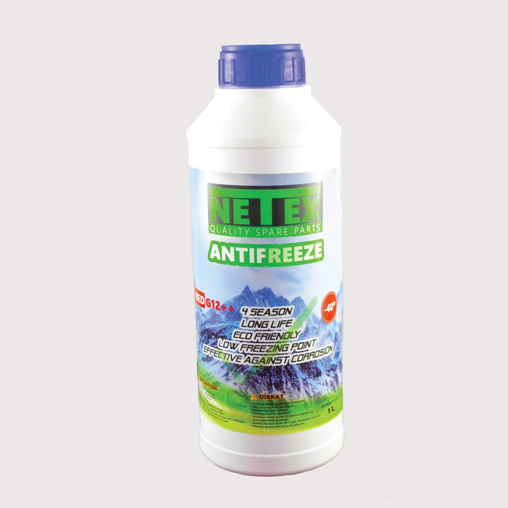 Netex Antifreeze Coolant Red & Blue