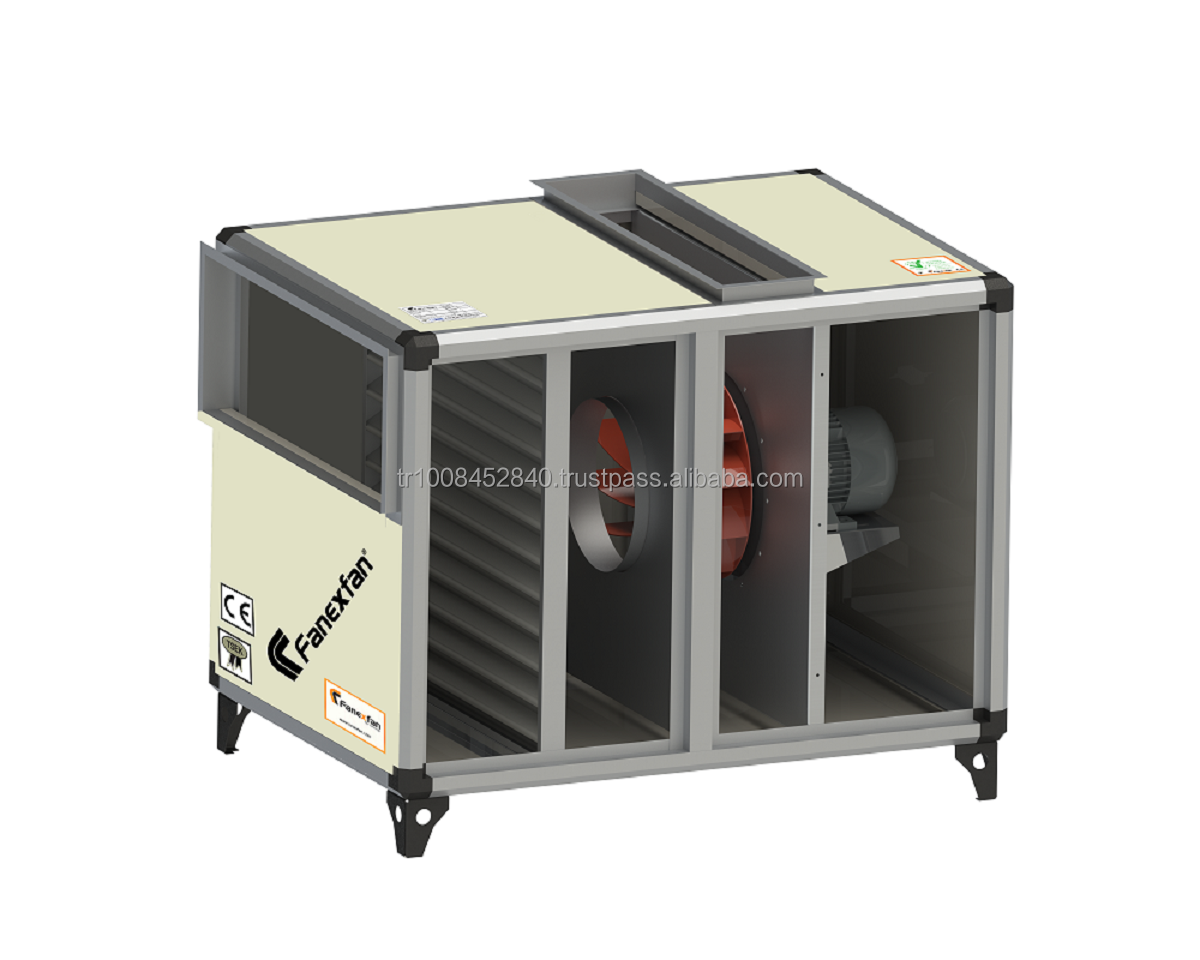 High Quality Backward Curved Kitchen Exhaust Fan With Cabin (With Oil Filter)