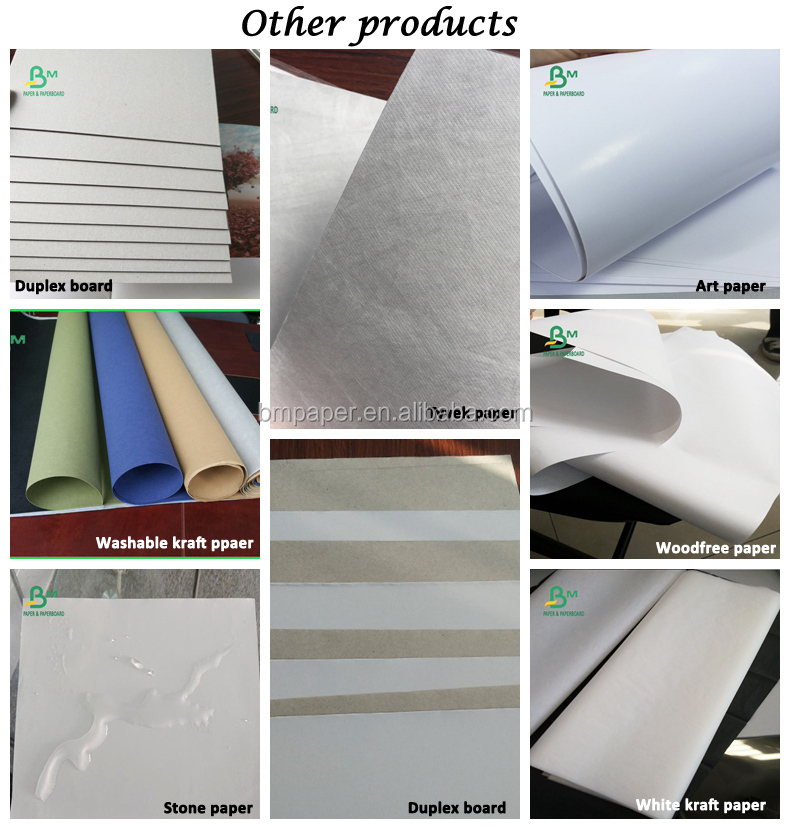 C1S Label Paper FSC High Printing Gloss 85GSM 700*1000mm Art Paper
