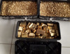 Fine purity processed gold nuggets and gold bars