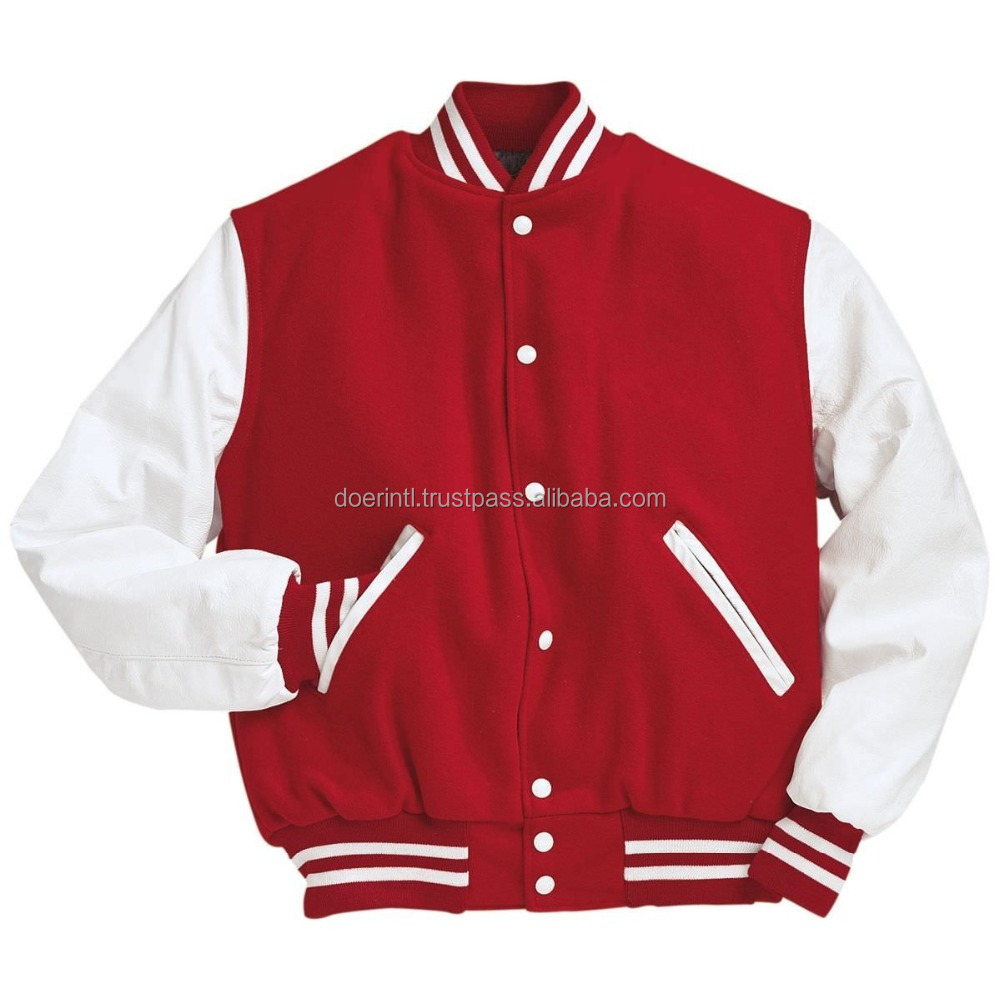 Best OEM Custom Printed Men's Varsity Jackets at Factory Price for Importers, Wholesaler, Sports Clubs