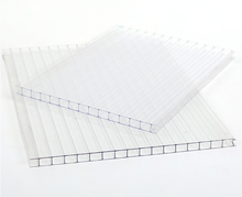 uv protection clear plastic polycarbonate hollow pc sheet for greenhouse