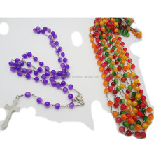 6mmglass beads with cross catholic rosaries catholic, aroma rosary bead chain