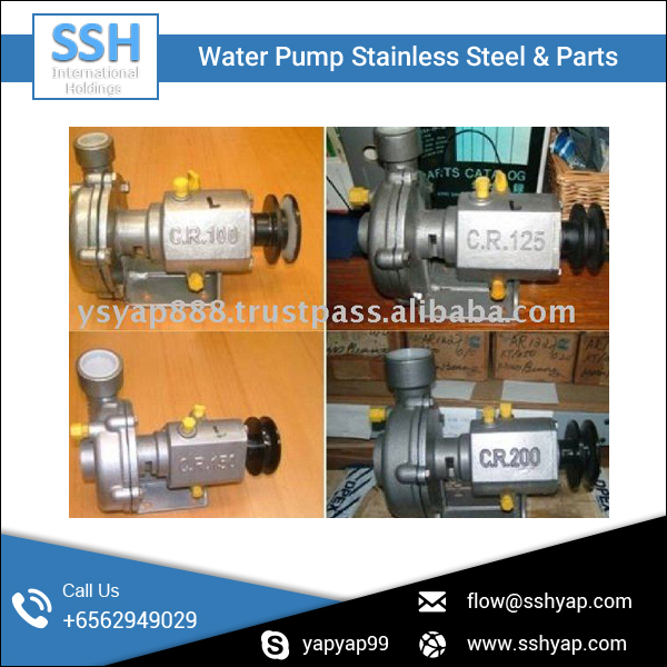 4 Bolt Type Stainless Steel Water Pump