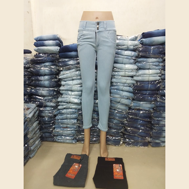 Women Blue Slim Fit High-Rise Clean Look Stretchable Jeans