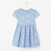baby girls dress summer printed casual party elegant dress