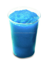 Blue Caribbean tropical fruit powder mix for Granita and Slush
