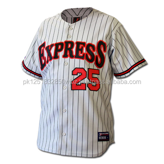 Embroidery Basball Sport men's coloful baseball jerseys with usa design