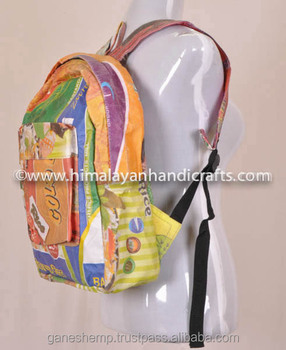 Pure Hemp Cool Backpack BPK 0003