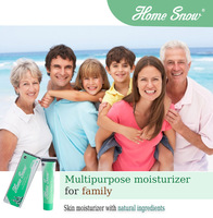 Skin moisturizer with sunblock using natural ingredients for all family members / Non greasy cream