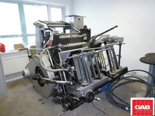 Heidelberg GTP Platen with hot foiling attachment