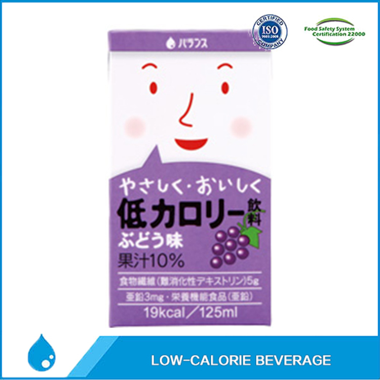grape low calorie beverage odm companies for low-fat with dietary fiber and Zinc