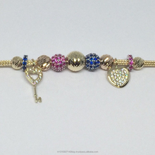 High Quality Gold Charm Trend Bracelet