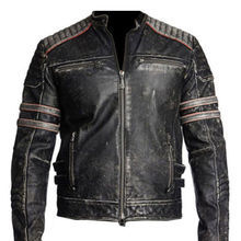 Best Vintage Motorcycle Jackets Real Leather Durable Stuff Full Energy Stuff Leather
