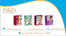 TURKISH BABY DIAPERS PUPPETS EUROPEAN QUALITY SOFT DRY SURFACE FOR YOUR BABIES