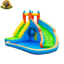 S410A Inflatable Fabric PVC AAA Qualified Personalized Giant Banzai Inflatable Water Slide Factory China