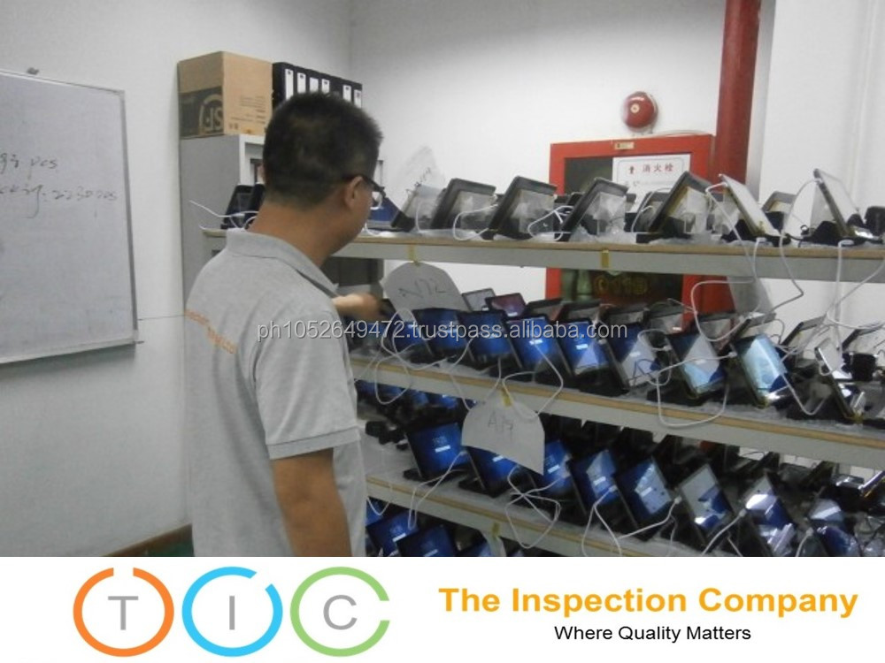 Pre Shipment Inspection service Philippines for Quality Control Tablet PC