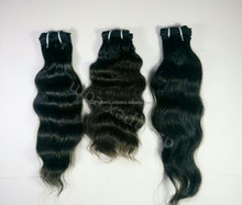 Brazilian remy hair 30 inch fish wire hair extension