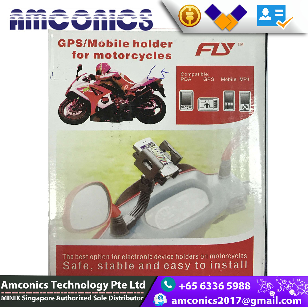 The best option for electronic device mobile holders on motorcycles safe stable and easy to install
