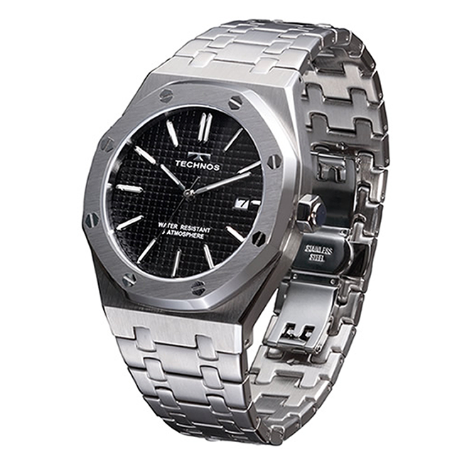 Best Price Of The Heavy Duty Solid Stainless Case Mens Sport Smart Watch