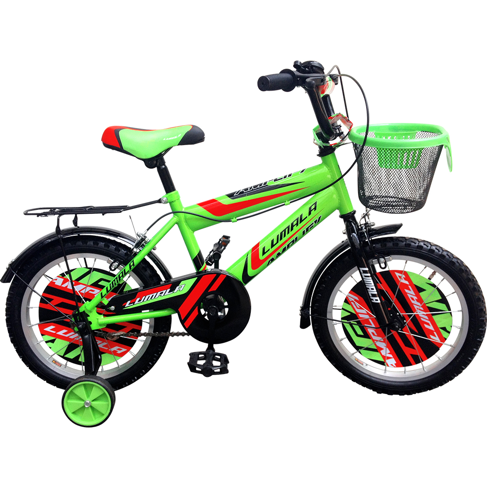 "12""/16""/20"" BMX Bicycle with Steel Mudguard and Rear Carrier"