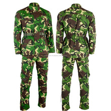 Military Uniform Camouflage Suit Jacket and Trouser Army Uniform 2018