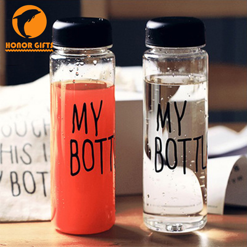 Korea Hot Sale Custom Plastic 500ml My Bottle With Bags
