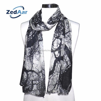 digital print silk scarves